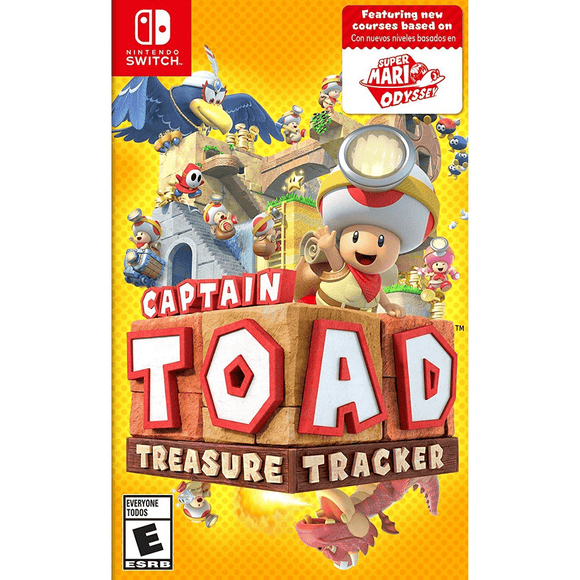Nintendo Video Games Captain Toad: Treasure Tracker Switch (NTSC)