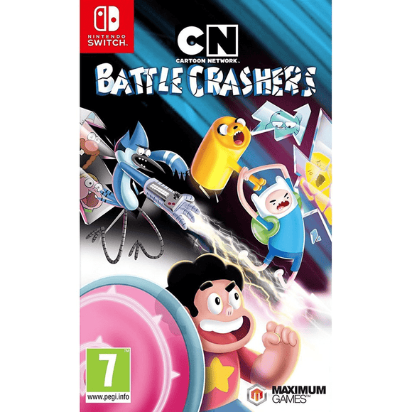 Nintendo Video Games Cartoon Network Battle Crashers Switch (PAL)
