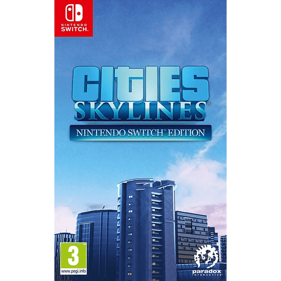 Nintendo Video Games Cities: Skylines Switch (PAL)