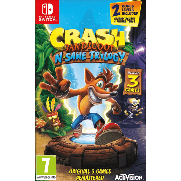 Nintendo Video Games Crash Bandicoot N. Sane Trilogy Switch