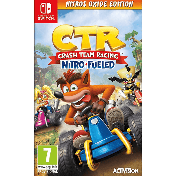Nintendo Video Games Crash Team Racing Nitro-Fueled - Nitros Oxide Edition Switch