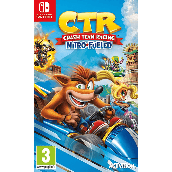 Nintendo Video Games Crash Team Racing Nitro-Fueled Switch