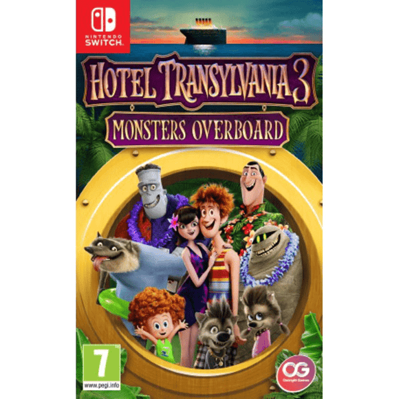 Nintendo Video Games Hotel Transylvania 3: Monsters Overboard Switch (PAL)
