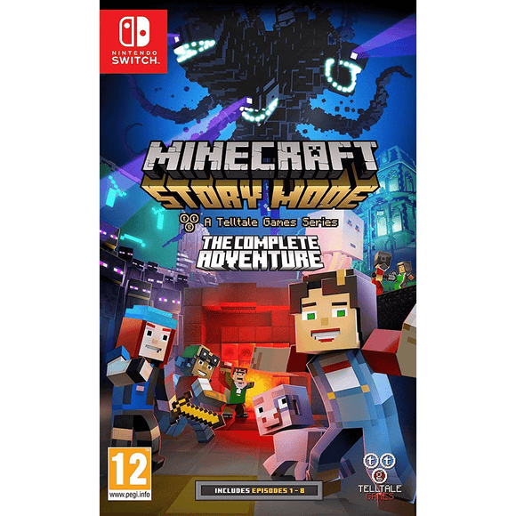 Nintendo Video Games Minecraft Story Mode: The Complete Adventure Switch  (PAL)