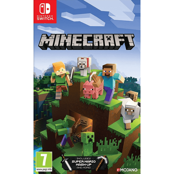 Nintendo Video Games Minecraft Switch (PAL)