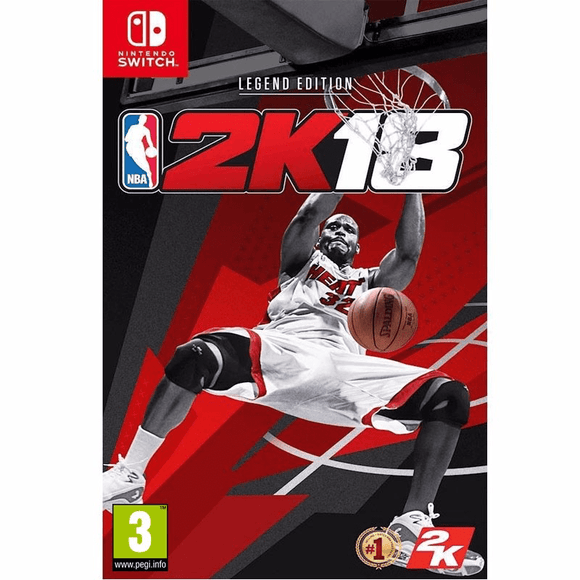Nintendo Video Games NBA 2K18 Legend Edition Switch (PAL)