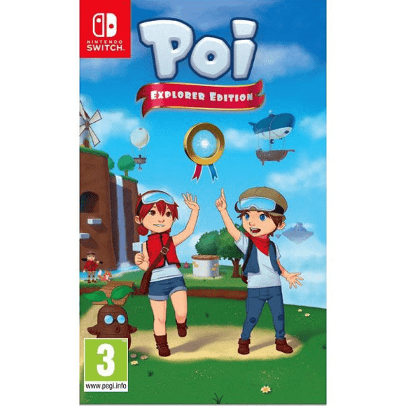 Nintendo Video Games Poi Explorer Edition Switch (PAL