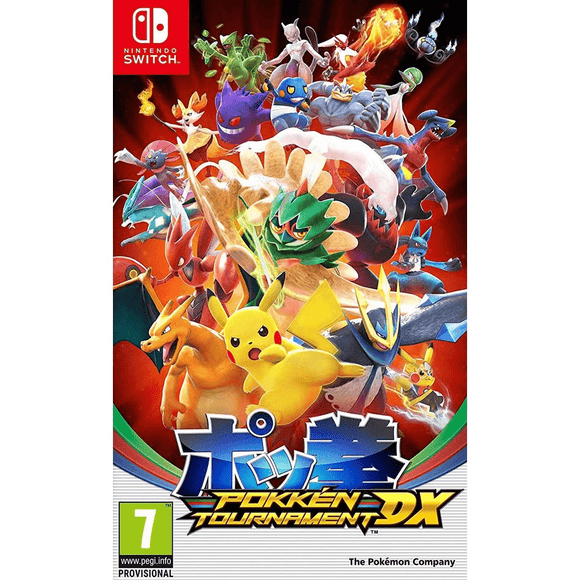 Nintendo Video Games Pokken Tournament DX for Switch (PAL)