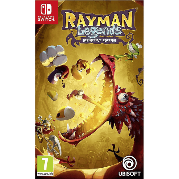 Nintendo Video Games Rayman Legends Definitive Edition Switch (PAL)