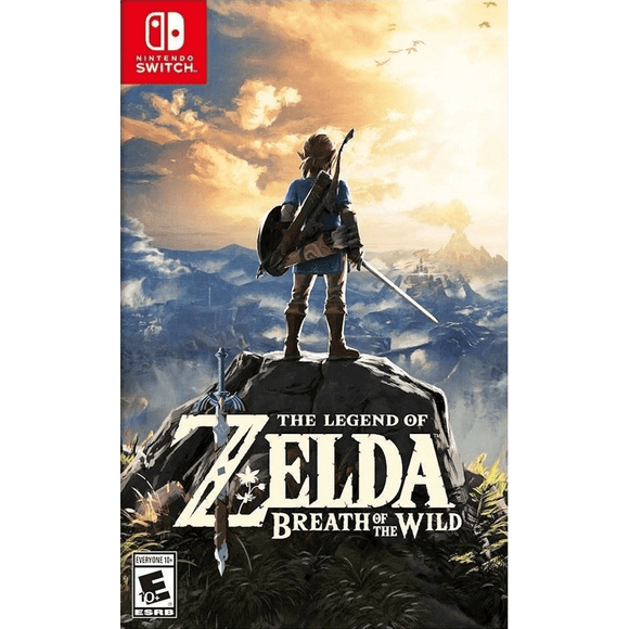 Nintendo Video Games The Legend of Zelda: Breath of the Wild Switch