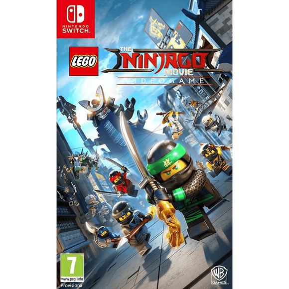 Nintendo Video Games The Lego Ninjago Movie Videogame Switch (PAL)