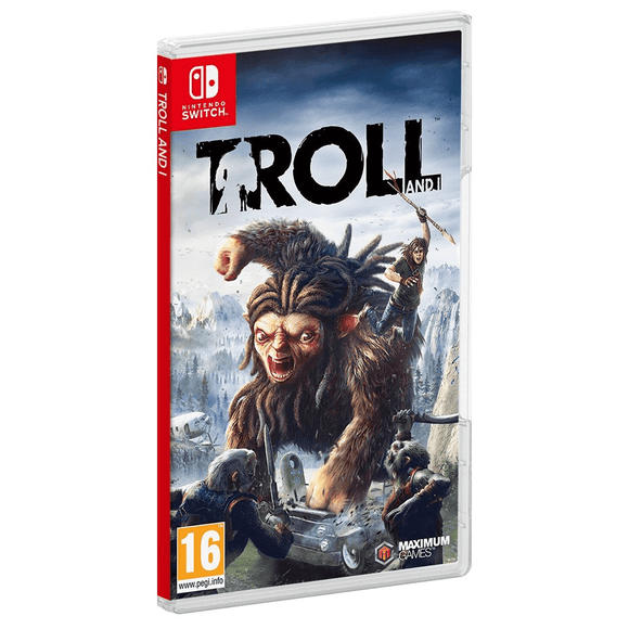 Nintendo Video Games Troll and I Switch (PAL)