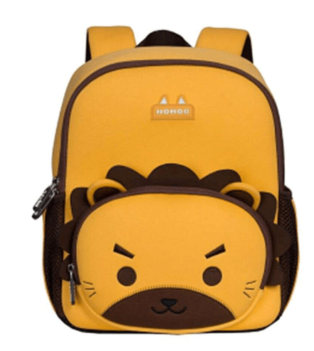 Nohoo Back to School Lion Pattern Jungle Kindergarden Backpack XL