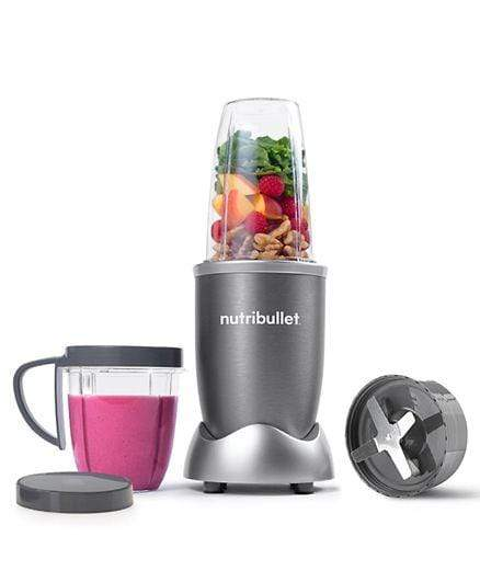 Nutribullet Home & Kitchen Nutribullet 8 Piece High Speed Blender Mixer System 600 Watts -Grey