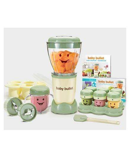 Nutribullet Home & Kitchen Nutribullet Baby Bullet 22 Piece High Speed Blender Mixer System 200 Watts - Green