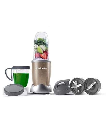 Nutribullet Home & Kitchen Nutribullet Pro10 Piece High Speed Blender Mixer System 900 Watts - Copper Gold