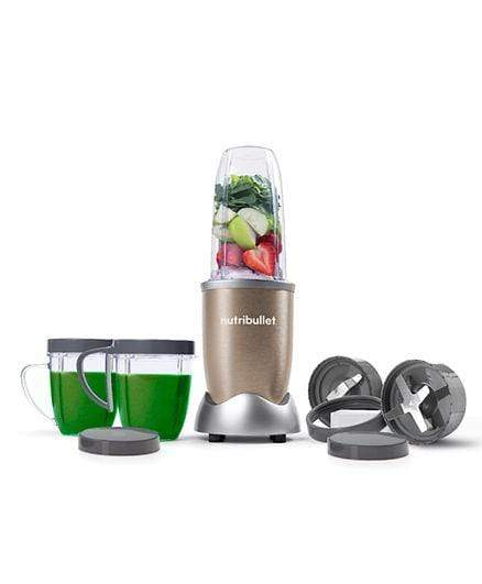 Nutribullet Home & Kitchen Nutribullet Pro12 Piece High Speed Blender Mixer System 900 Watts - Copper Gold