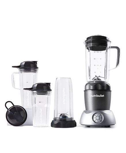 Nutribullet Home & Kitchen Nutribullet Select 12 Piece High Speed Blender Mixer System 1200 Watts - Dark Grey