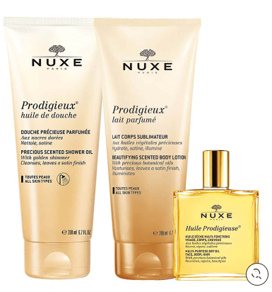 Nuxe Beauty NUXE Prodigieux Treasures Set