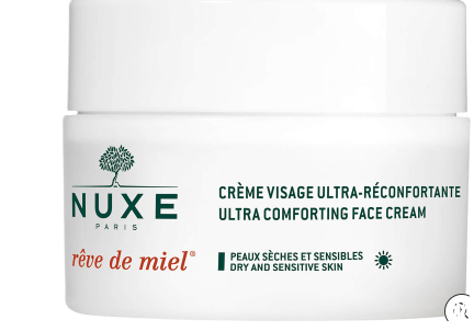 Nuxe Beauty NUXE Reve De Miel - Ultra Comfortable Face Cream For Dry and Sensitive Skin (50ml)