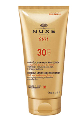 Nuxe Beauty NUXE Sun Face and Body Delicious Lotion SPF 30 (150ml)