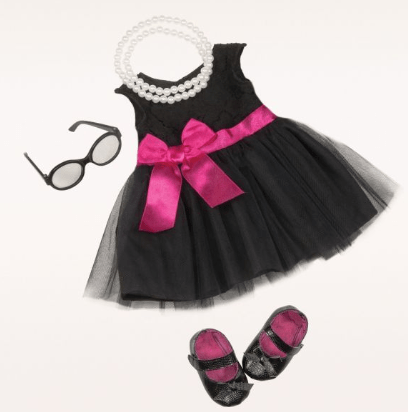 Our Generation Toy OG Audrey Dress & Pearls Deluxe Outfit