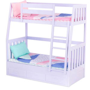 Our Generation Toy OG Bunk Bed Gray