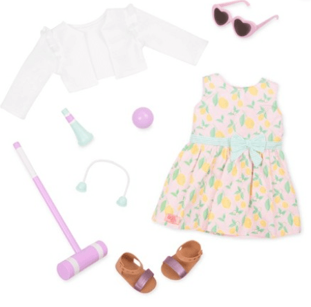 Our Generation Toy OG Deluxe Croquet Outfit