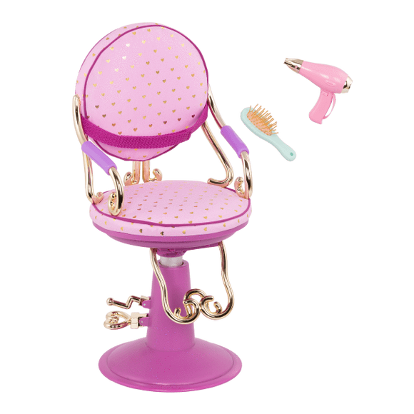 Our Generation Toys Our Generation Salon Chair For 18 Inches Dolls - Hot Pink