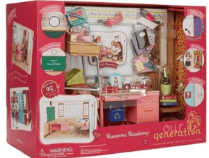 "Our Generation Toys ""Our Generation School Room -in Open box"""