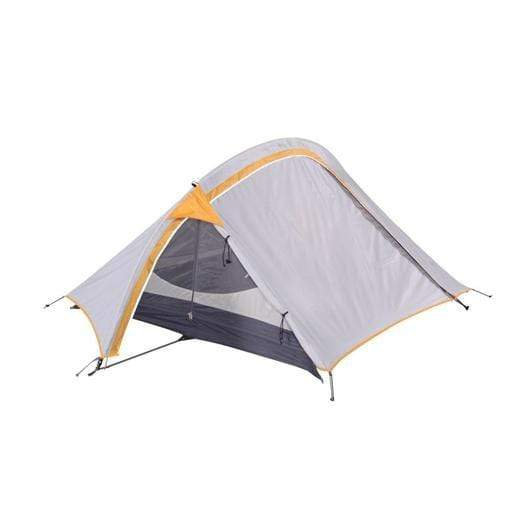 Oztrail Outdoor OZTRAIL Backpacker Hiking Tent - Yellow/Grey | 2 Person Capacity | 68 Denier Ripstop Polyester Fly