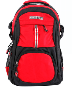 PARA JOHN Back to School Nylon Zipper Back Pack