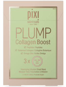 Pixi Beauty PIXI PLUMP Collagen Boost Sheet Mask (Pack of 3)