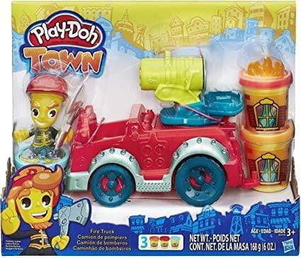 Play-Doh Toy Play-Doh Town Fire Truck