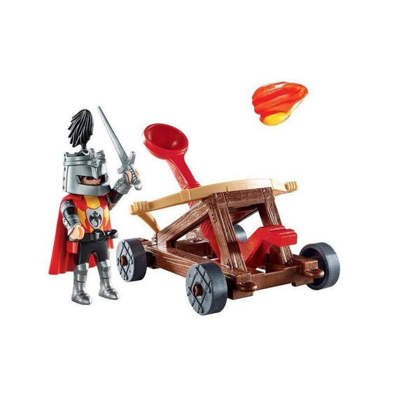 Play Mobil toys Knight's Catapult Carry Case (18 Pieces)