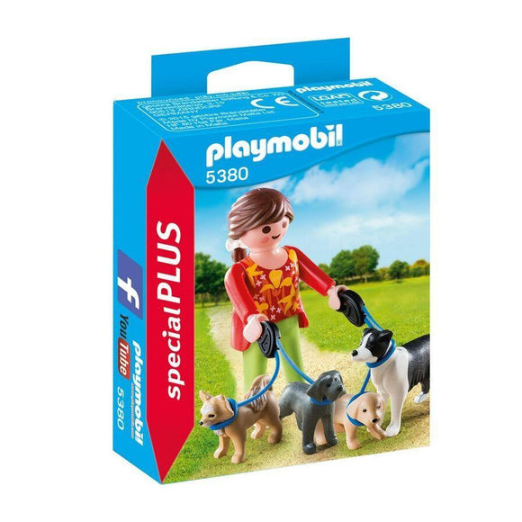 Play Mobil toys Playmobil Dog Walker Figure Set