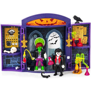 Play Mobil toys Playmobil Haunted House Play Box Set