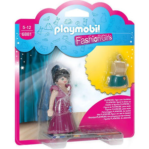 Play Mobil toys Playmobil Purple Party Dress Fashion Girl