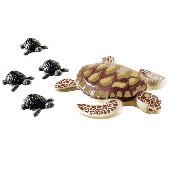 Play Mobil toys Playmobil Sea Turtle with Babies