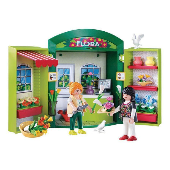 Playmobil toys Playmobil City Life Flower Shop Play Box