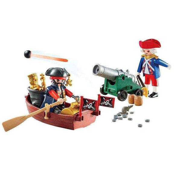 Playmobil toys Playmobil Pirate Raider Carry Case (62 Pieces)