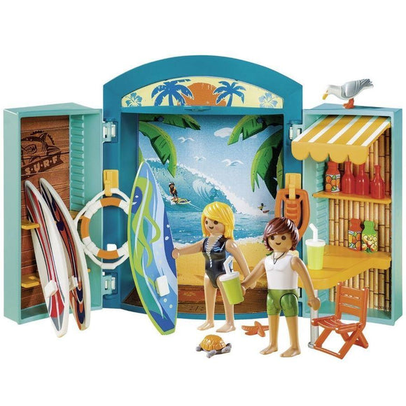 Playmobil toys Playmobil Surf Shop Playbox