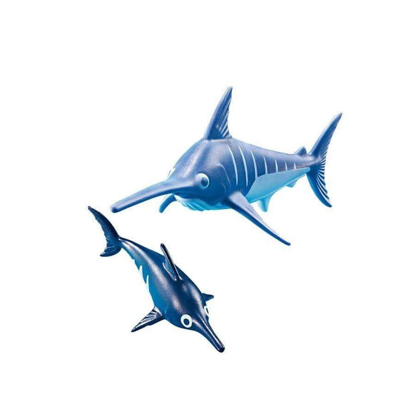 Playmobil toys Playmobil Swordfish with Baby (2 Pieces)