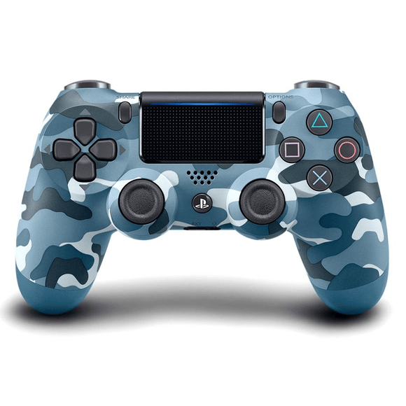 PlayStation Gaming Accessories PS4 DualShock 4 Controller (Blue Camouflage)