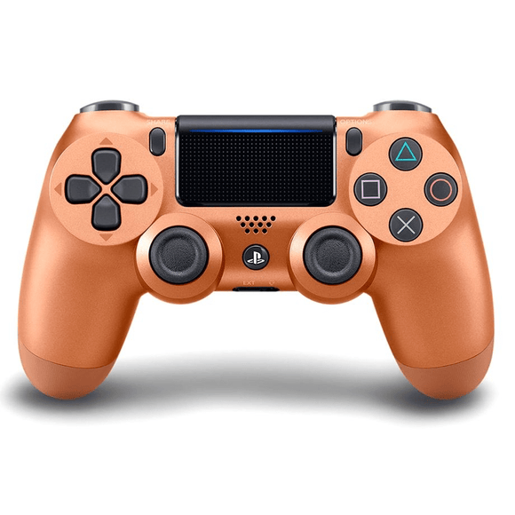 PlayStation Gaming Accessories PS4 DualShock 4 Controller (Metallic Copper)