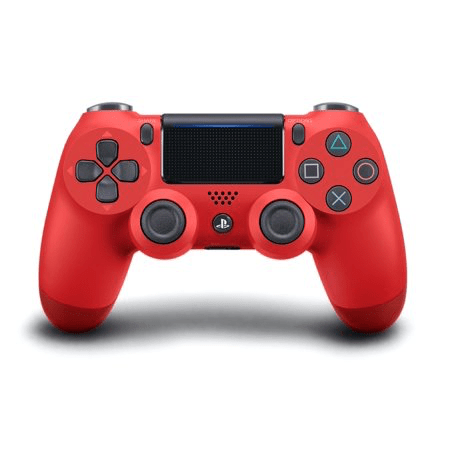 PlayStation Gaming Accessories PS4 DualShock 4 Controller (Red)