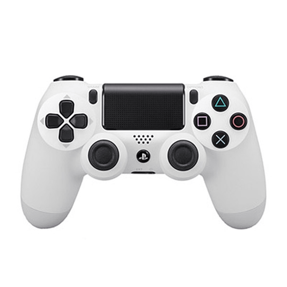 PlayStation Gaming Accessories PS4 Dualshock 4 Controller V2 - Glacier White
