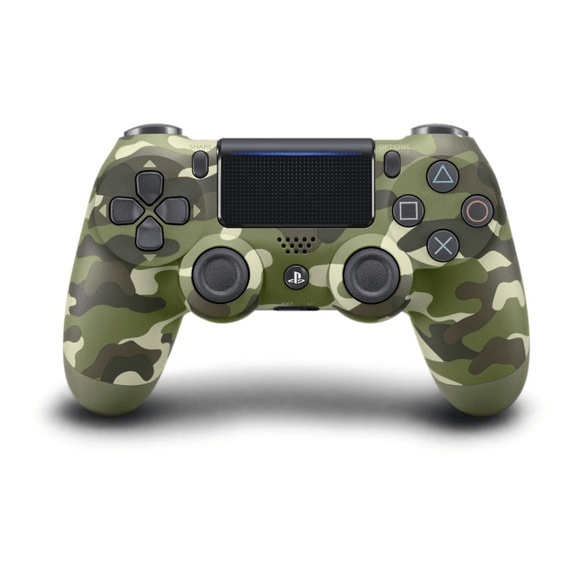 PlayStation Gaming Accessories PS4 Dualshock 4 Controller V2 - Green Camouflage