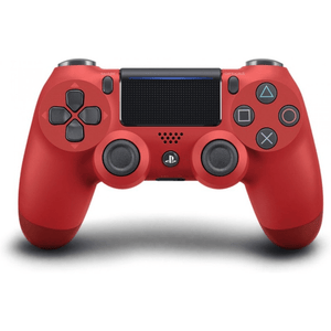 PlayStation Gaming Accessories PS4 Dualshock 4 Controller V2 - Magma Red