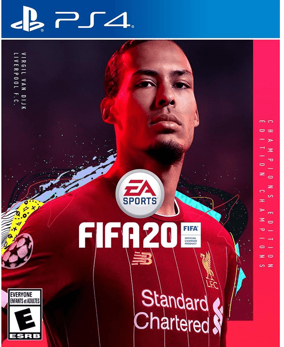 PlayStation Gaming Fifa 20 Champions Edition for PlayStation 4 Arabic & English